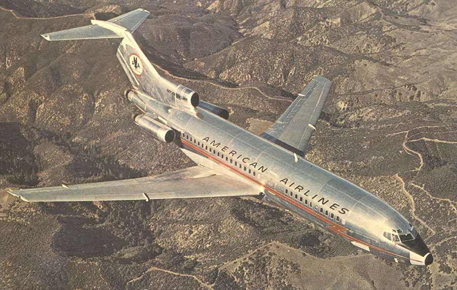 Sz-17-American-Airlines-Boeing-727,-A-I-T-152,-MGGoldman-Coll'n