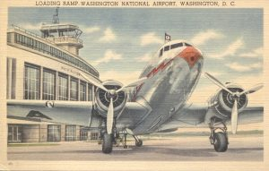 Washington National Airport in Postcards