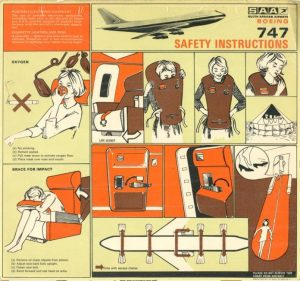 """The """"Queen"""" at 50 – Early 747 Safety Cards"""