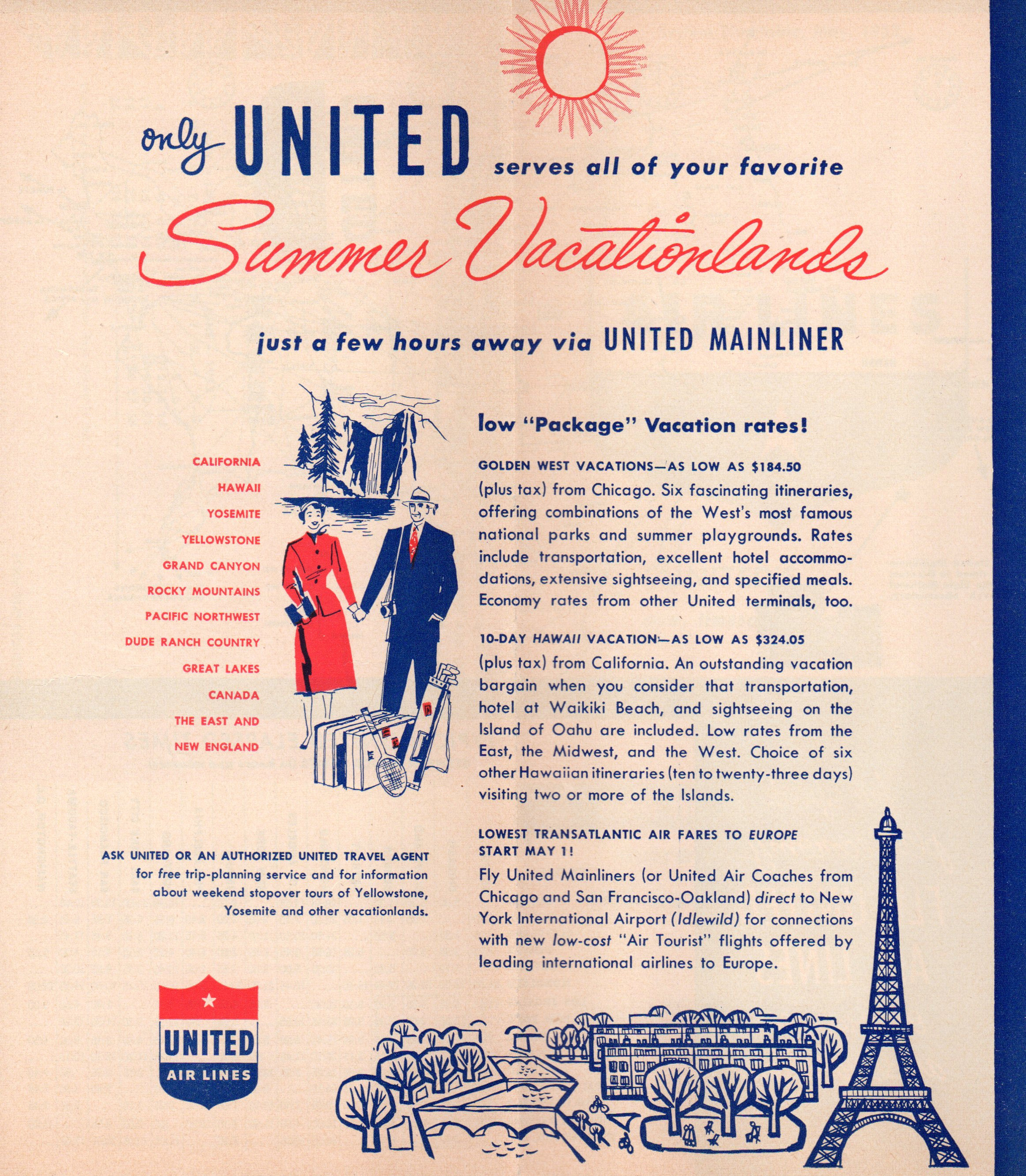 Timetables from the Past - World Airline Historical Society