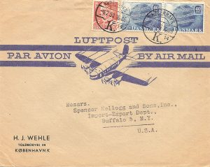 Illustrated Airmail Envelopes II