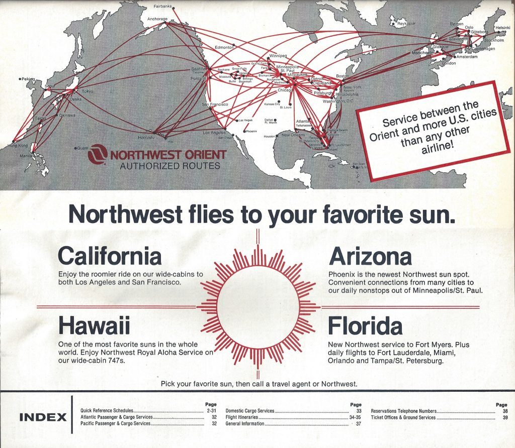 Airline Timetables Archives - World Airline Historical Society