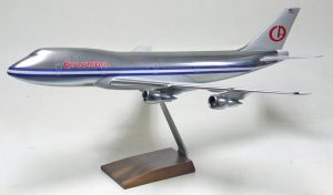 Atlantic Models 1/100 scale 747-100 in Columbia Airlines livery (Airport 1975)