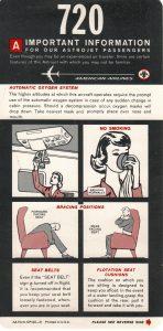 Musings from a Passenger's Seatback Pocket III