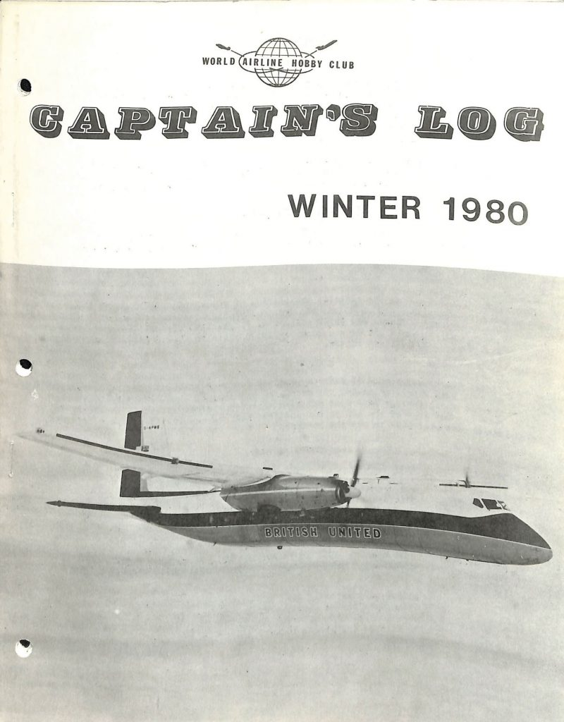 Image of the Winter 1980 Captain's Log cover